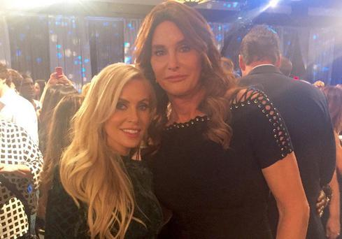 Claudine Keane and Caitlyn Jenner at the Celebrity Apprentice semi-final