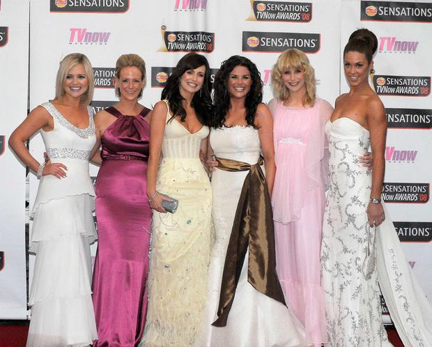 The first time we saw the original Xpose gang hit the red carpet together - Karen Koster, Sybil Mulcahy, Lorraine Keane, Lisa Cannon, Aisling O'Loughlin, Glenda Gilson - at the now defunct VNow Awards at the Mansion House in 2008.