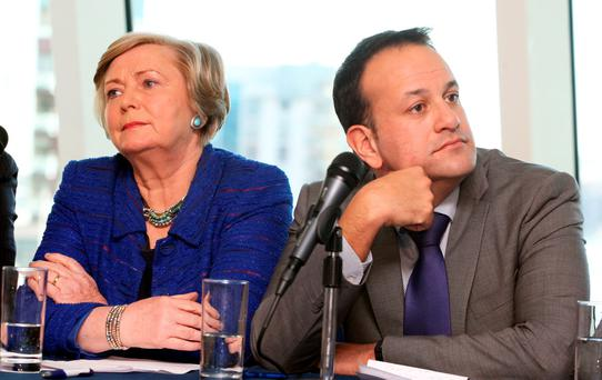 A rejuvenated Fine Gael led by either Leo Varadkar or Frances Fitzgerald would allow the party to change the narrative. Photo: Tom Burke
