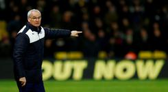 Claudio Ranieri's Leicester team are five points clear Photo: Reuters