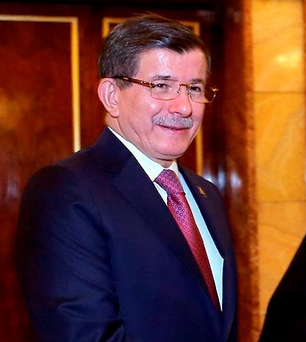 Turkish Prime Minister Ahmet Davutoglu Photo: REUTERS/President.ir/Handout via Reuters