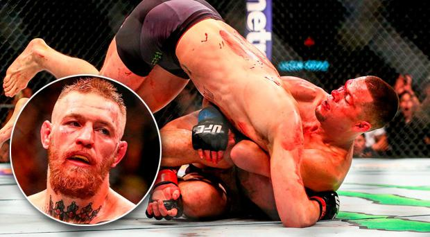 Conor McGregor suffered his first defeat in the UFC after being choked out by Nate Diaz