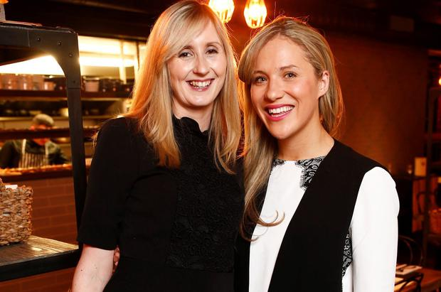 Melissa Kelly and Clodagh Egan at the launch of McGettigan's Cookhouse & Bar Kingswood. Picture: Robbie Reynolds