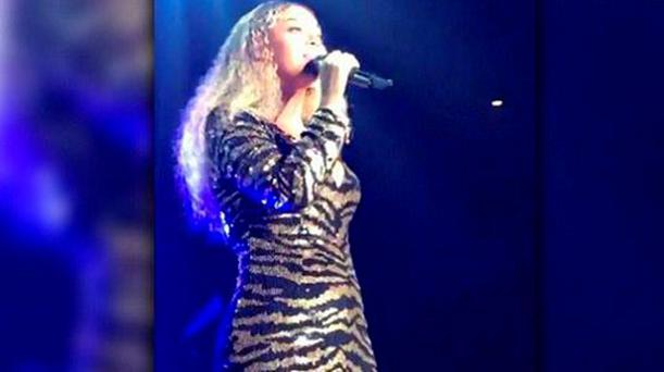 Beyonce sings at the Center for Early Education's 75th Anniversary Gala