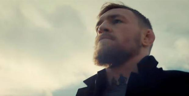 Conor McGregor in the promo for Budweiser Dream Big competition 2016