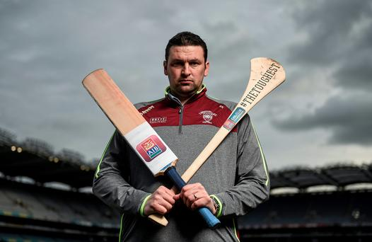 Retired English cricketer Steve Harmison at Croke Park, Dublin, ahead of AIB's 'The Toughest Trade' on RTE2 this evening. Photo: Stephen McCarthy/Sportsfile