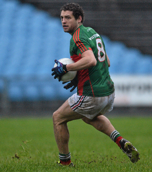 Mayo's Tom Parsons was quick to praise some of this team's newcomers. Photo: David Maher/Sportsfile
