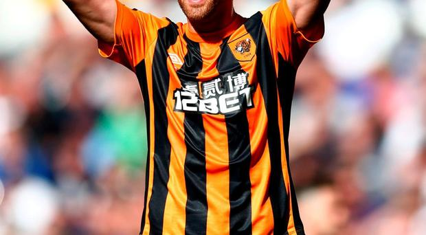 Corkman and Hull City midfielder David Meyler is eager for another shot at bringing down Arsenal in their FA Cup semi-final. Photo: Julian Finney/Getty Images