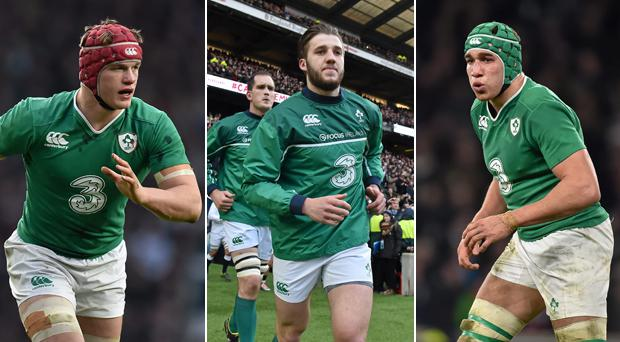 Josh van der Flier, Stuart McCloskey and Ultan Dillane should all feature against Italy