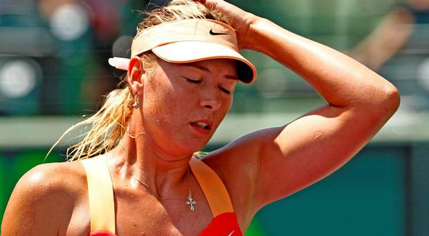Maria Sharapova is facing a possible four-year ban