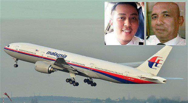 Fariq Abdul Hamid, left, and Zaharie Ahmad Shah were the pilots on the missing Malaysia Airlines flight MH370