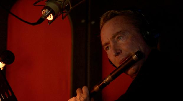 Michael Flatley in the recording studio for 'The Rising'. Story by Ralph Riegel