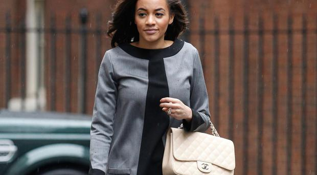Amal Fashanu pictures in 2012 GETTY IMAGES