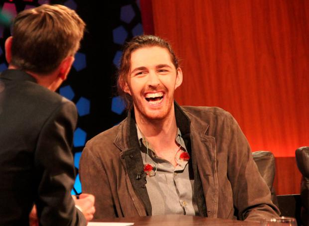 Hozier on the Late Late Show