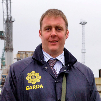 The widow of murdered hero detective Adrian Donohoe has left the force after two decades as a garda. Photo: Ciara Wilkinson