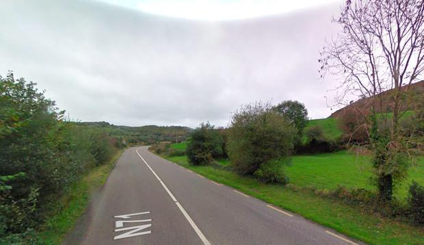 The incident occurred on Barley Hill, west of Rosscarbery in Cork
