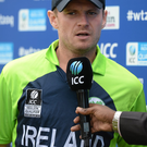Ireland captain William Porterfield. Photo: Piaras O Midheach / ICC / Sportsfile.