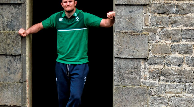 Donnacha Ryan is pictured in Carton House yesterday (SPORTSFILE)