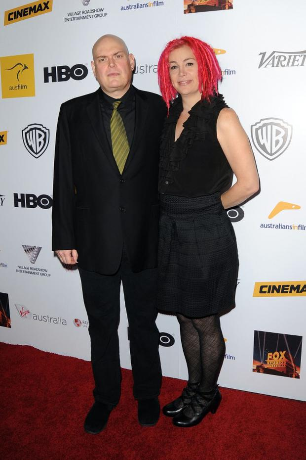 The Wachowskis in 2013. Photo: PA
