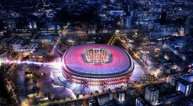 What the Nou Camp will look like