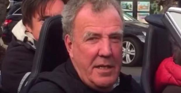 Jeremy Clarkson filming his new show for Amazon Prime
