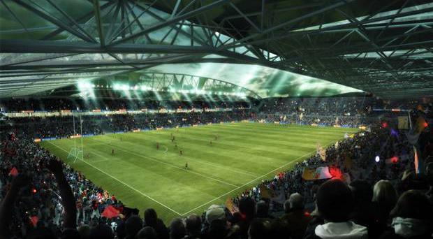 What Casement Park would look like after the proposed redevelopment