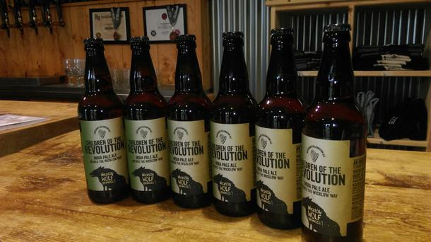 Wicklow Wolf Brewing Company's Children of the Revolution beer