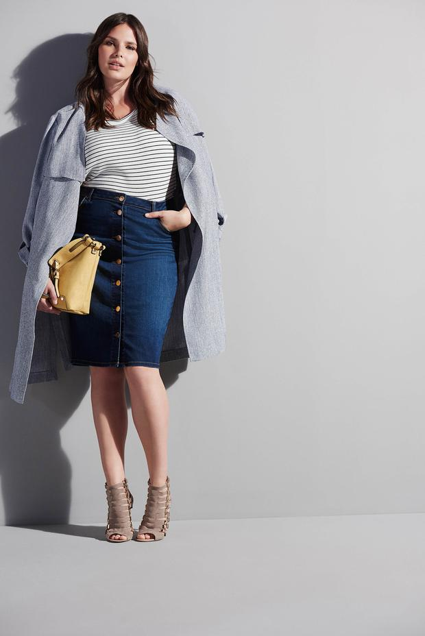 River Island Spring Summer plus size collection.