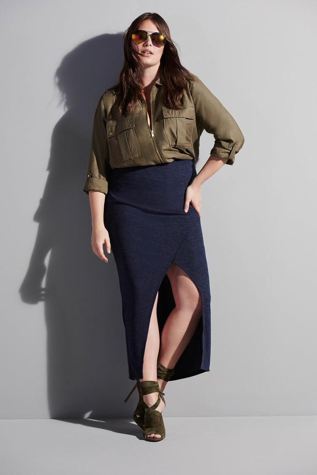 River Island Spring Summer 16 plus size collection.