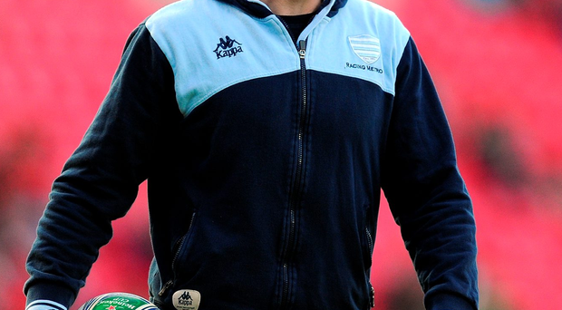 Former Ireland and Munster No 10 has opted to stay in Paris for another three years Photo: Stu Forster/Getty Images