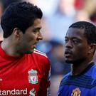 Luis Suarez's abuse of Patrice Evra sparked a toxic saga in 2011. Photo: Reuters