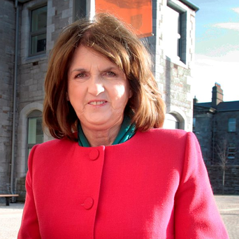Labour leader Joan Burton. Photo: Tom Burke