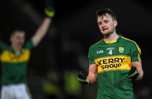 Tom O'Sullivan celebrates his side's victory (SPORTSFILE)