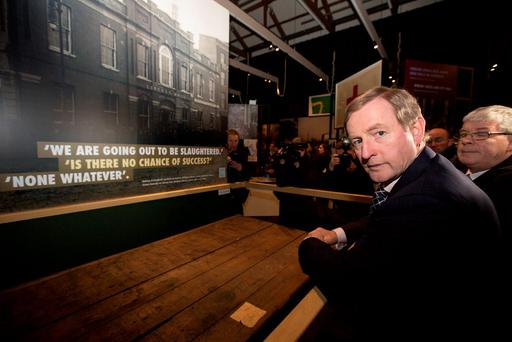 Enda Kenny, who will take his place in the 32nd Dáil when it meets for the first time today. The Dáil will have a very changed make-up, featuring as it does a kaleidoscope of small parties and Independents alongside the two Civil War parties that have dominated it for so long Photo: Mark Condren