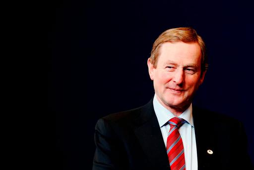 Enda Kenny Photo:Dean Mouhtaropoulos/Getty Images