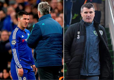 Eden Hazard was criticised by Roy Keane