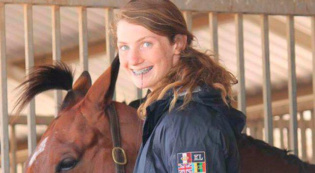 Olivia Inglis, 17, died when her family horse Coriolanus fell on her during a jump at a championship event Rest In Peace Olivia Inglis/ Facebook
