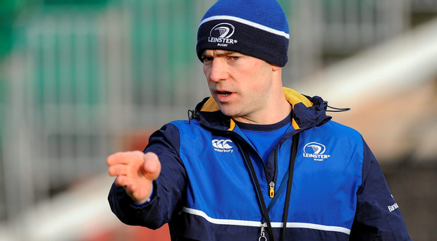 Leinster 'A' head coach Hugh Hogan (SPORTSFILE)
