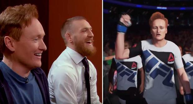 Conan O'Brien takes on Conor McGregor in UFC2