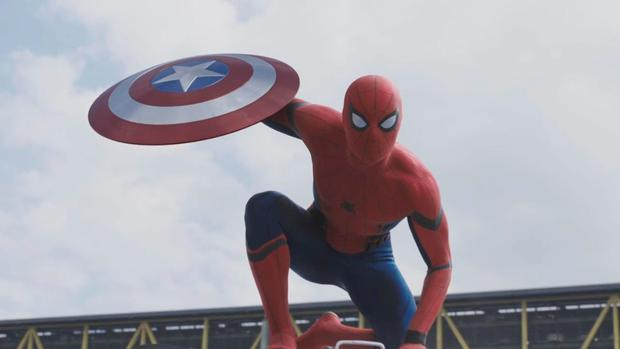 Spider Man appears in Captain America: Civil War trailer
