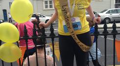 Cancer survivor Lyndsey Connolly is a supporter of the Irish Cancer Society's Daffodil Day