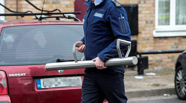 Search operations commenced at premises at 10 private residences in the Kevin Street and Pearse Street areas in Dublin involving 80 Gardaí today