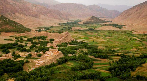 The small mountain village of Azilal, where 'Mrs Mohamed' was buried
