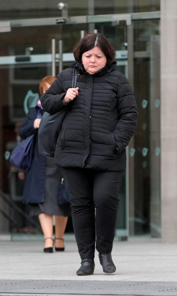 Alice Warnock (54) of Rathbeale Court, Swords, Co Dublin pleaded guilty at Dublin Circuit Criminal Court to nine sample counts of stealing from bank branches on Talbot Street and Malahide Road, Coolock, between November 2004 and March 2012. She has no previous convictions.Pic Collins Courts