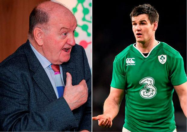 George Hook and Johnny Sexton