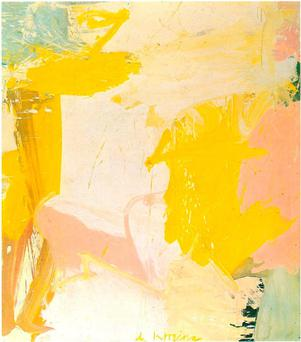 Rosy-Fingered Dawn at Louse Point by Willem de Kooning.