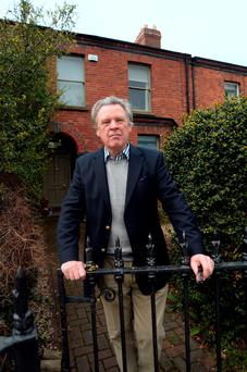 Robert Hastings at his home in south Dublin. Photo: Caroline Quinn