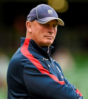 Scotland head coach Vern Cotter. Photo: Stephen McCarthy / Sportsfile