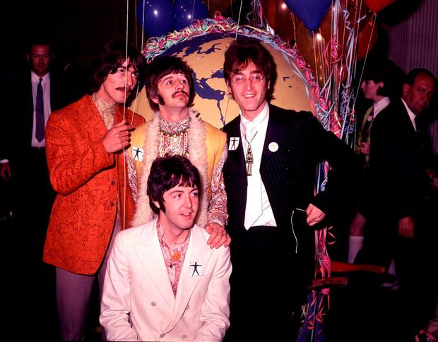 The Beatles in 1967. Photo: PA Wire