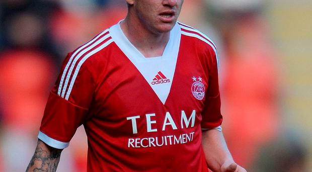 Aberdeen's Johnny Hayes. Photo by Mark Runnacles/Getty Images